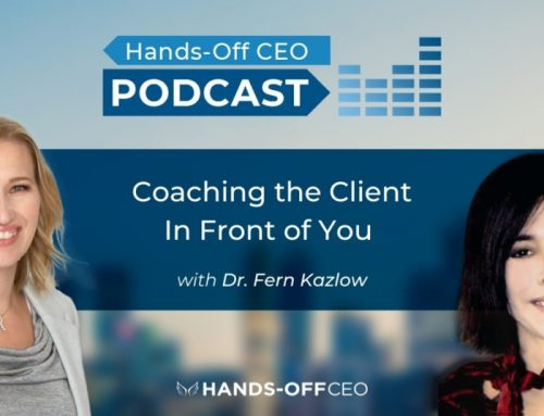 Coaching the Client in Front of You with Dr. K.
